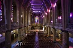 Eglise Saint-Jean-Bosco - English:   Inside the church St John Bosco in Paris, France. Art Déco Style