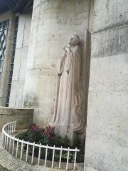 Eglise Sainte-Jeanne-d'Arc - Français:   This statue represent Joan of Arc