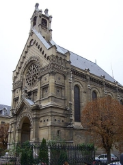 Hôpital Saint-Louis -  Hôpital (chapelle) de Saint-Germain-en-Laye (Yvelines, France)