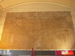 Gare des Chantiers -  La Compagnie des chemins de fer de l'Ouest a été créée en 1855, par la fusion de plusieurs compagnies ferroviaires, desservant la Normandie ainsi que la Bretagne, et rachetée en 1909 par l'Administration des chemins de fer de l'État.