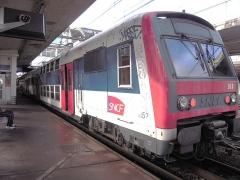 Gare des Chantiers -  L'ouverture de la gare de Versailles-Chantiers, le 12 juillet 1849, fait commencer l'histoire du chemin de fer à Versailles.