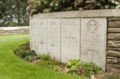 Mémorial terre-neuvien et parc commémoratif - English: Hunter's Cemetery