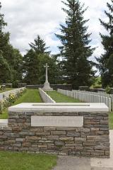 Mémorial terre-neuvien et parc commémoratif - English: Y Ravine Cemetery, Beaumont-Hamel