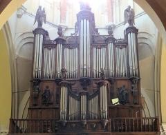 Eglise Saint-Sauveur - Français:   Castelsarrasin - Église Saint-Sauveur - Orgue