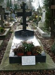 Cimetière de Liers - Українська:   Нагробок Віктора Некрасова