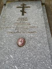 Cimetière de Liers - Русский:   Кенотаф генерала Кутепова и памятник его подвижникам.