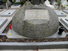 Cimetière de Liers - Русский:   Памятник казакам - сынам славной воли