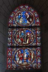 Église Saint-Vincent-Saint-Germain - Deutsch: Katholische Pfarrkirche Saint-Vincent-Saint-Germain in Saint-Germain-lès-Corbeil im Département Essonne (Region Île-de-France/Frankreich), Bleiglasfenster