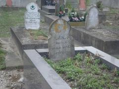 Cimetière musulman - Français:   Tombe du Prince Omar Halim (1898-1954) au cimetière musulman de Bobigny.