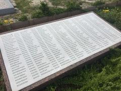 Cimetière musulman - Français:   Ossuaire de 181 soldats au sein du Cimetière musulman de Bobigny, en mars 2017.