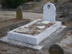 Cimetière musulman - Français:   Tombe de la princesse Selma (mère de Kenizé Mourad) au cimetière musulman de Bobigny.