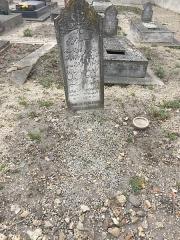 Cimetière musulman - Français:   Tombe de Omar Zaki Pacha Afiouni, au Cimetière musulman de Bobigny, en mars 2017. Un résistant arabe de la Jordanie.