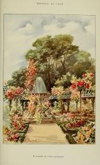 Roseraie du conseil général du Val-de-Marne, ancienne roseraie Gravereaux - Français:   Roseraie de l\'Haÿ   Pyramide de rosiers grimpants.