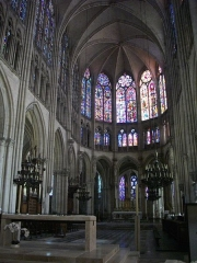 Cathédrale Saint-Pierre Saint-Paul - Français:   Cathédrale Saint-Pierre-et-Saint Paul de Troyes (Aube, France): chœur