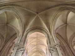 Cathédrale Saint-Pierre Saint-Paul - Français:   Voûtes du chœur et du déambulatoire de la cathédrale Saint-Pierre et Saint-Paul de Troyes (10).