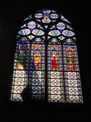 Eglise Saint-Urbain - Basilique Saint-Urbain de Troyes (Aube, France): vitrail