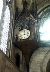 Chartreuse - English: Reims, cathedral, the  astronomical clock