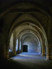 Ancien archevêché, actuellement Palais du Tau - Français:   Palais du Tau à Reims (Marne, France). Salle basse