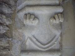 Ancien archevêché, actuellement Palais du Tau - Français:   Salle basse du Palais du Tau à Reims (Marne, France)