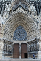 Cathédrale Notre-Dame - English: Notre-Dame Cathedral of Reims
