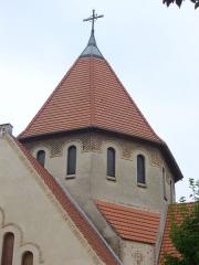 Eglise Saint-Nicaise - Église Saint-Nicaise de Reims (Marne, France), clocher
