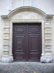 Hôtel Le Vergeur - Français:   Musée-hôtel Le Vergeur à Reims (Marne, France), portail rue du Marc