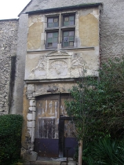 Hôtel Le Vergeur - Français:   Musée-hôtel Le Vergeur, à Reims (Marne, France), portail du 16 rue Talleyrand (XVIe s.)