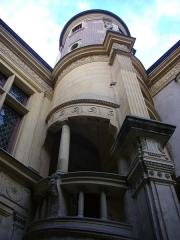 Maison natale de Jean-Baptiste de la Salle - Français:   Hôtel Jean-Baptiste de La Salle à Reims (Marne, France), escaliers
