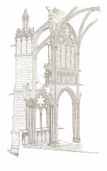 Basilique Saint-Denis - German architect and writer