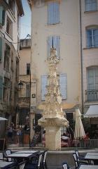 Fontaine Saint-Michel - English: Fontaine Saint Michel de Forcalquier
