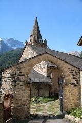 Ensemble religieux - Italiano: Ensemble religieux de La Grave, comprenant l'Église Notre-Dame-de-l'Assomption, la chapelle des pénitents et le cimetière