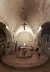 Eglise - Français:   Choeur de l\'église de Coursegoules