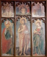 Eglise - Français:   Reproduction du tableau de Brea originellement présent dans l\'église de Coursegoules