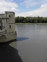 Chapelle et pont Saint-Bénézet - Pont Saint-Bénezet d'Avignon (84).