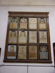 Hôtel-Dieu - Français:   Galerie des donatifs, au rez-de-chaussée de l\'Hôtel-Dieu de Carpentras