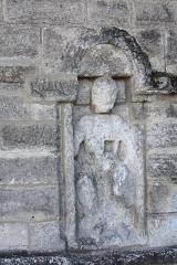 Ancienne abbaye - Français:   Ancienne abbaye Saint-Pierre (Inscription   Classement)