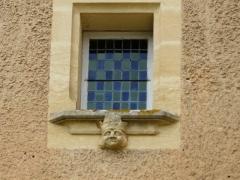Château de Monsec - Français:   Fenêtre du châtelet d\'entrée, château de Monsec, Mouzens, Dordogne, France.