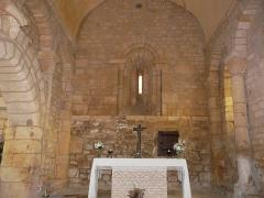Eglise Saint-Pantaléon - Français:   Le chœur de l\'église Saint-Pantaléon de Sergeac, Dordogne, France.