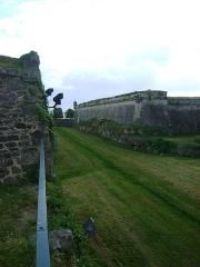 Citadelle de Blaye - Français:   Citadelle de Blaye, Gironde. Le bastion du port vu de la porte dauphine.