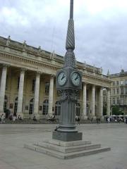 Grand théâtre - Le Grand Théâtre de Bordeaux.