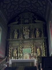 Eglise de l'Assomption - L'église Notre-Dame-de-l'Assomption d'Ascain (Pyrénées-Atlantiques, Aquitaine, France).