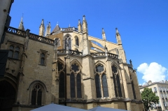 Cathédrale Notre-Dame - Façade Est de la Cathédrale Notre-Dame de Bayonne