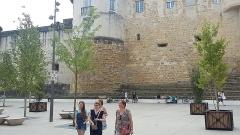 Château-Vieux - Español: Castillo Viejo de Bayona, desde la Place Jacques Portes