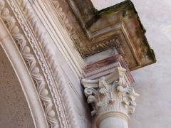 Ancienne église des Jésuites, ou église catholique Saint-Georges - Français:   Alsace, Bas-Rhin, Église Saint-Georges de Molsheim, ancienne église des Jésuites (1618) (PA00084798, IA67006097). Portail principal.