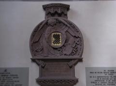 Eglise paroissiale Saint-Pierre-et-Paul -  Alsace, Bas-Rhin, Obernai, Église Saints-Pierre-et-Paul (PA00084850, IA00023930): Armoire eucharistique (XIXe).