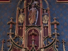 Eglise paroissiale Saint-Pierre-et-Paul - This object is classé Monument Historique in the base Palissy, database of the French furniture patrimony of the French ministry of culture,under the referencesPM67000208 and IM67003207.