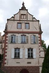 Château -  Alsace, Bas-Rhin, Osthoffen, Château (XVIe-XIXe) (PA00084877, IA67005654): Façade est.