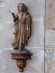 Eglise catholique de l'Assomption-de-la-Vierge - This object is classé Monument Historique in the base Palissy, database of the French furniture patrimony of the French ministry of culture,under the referencesPM67000246 and IM67001187.