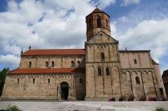 Eglise Saint-Pierre-et-Paul -  Alsace, Bas-Rhin, Rosheim, Église romane Saints-Pierre-et-Paul (XIIe) (PA00084909, IA00075638): Façade sud.