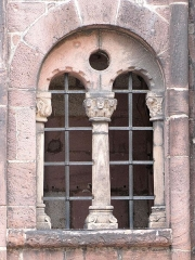 Eglise Sainte-Foy - This object is indexed in the base Palissy, database of the French furniture patrimony of the French ministry of culture,under the referenceIM67008601.